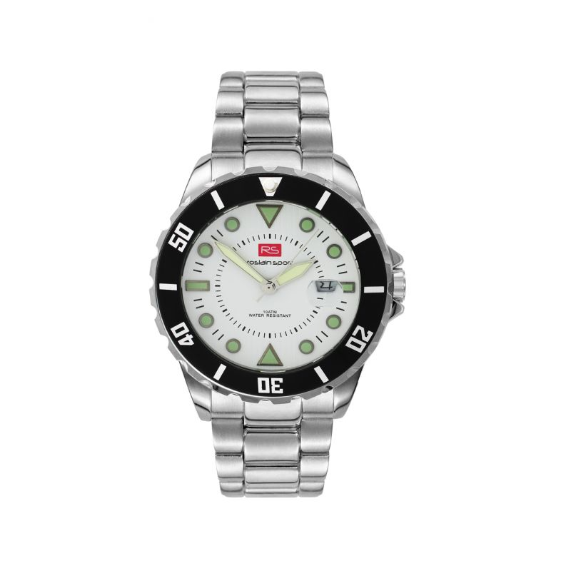 Reloj hombre acero RS Roslain Sport