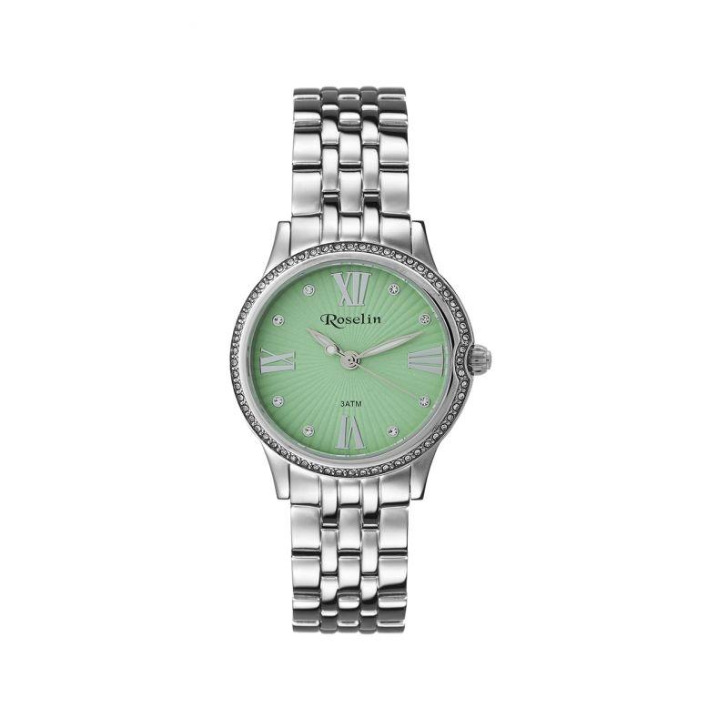 Reloj mujer acero y circonitas Roselin Watches