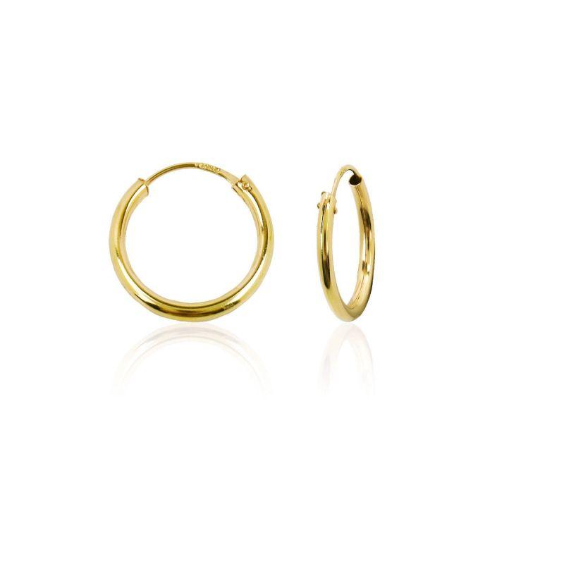 Aros oro ley 18k 1,5mm