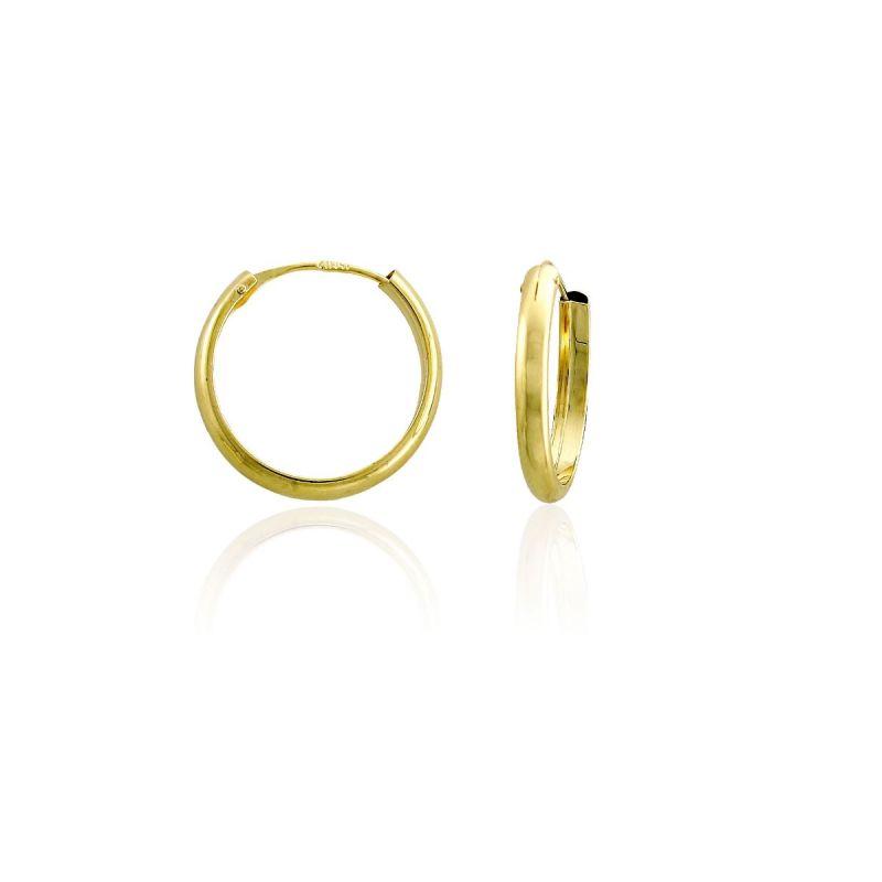 Aros oro ley 18k 2,5mm