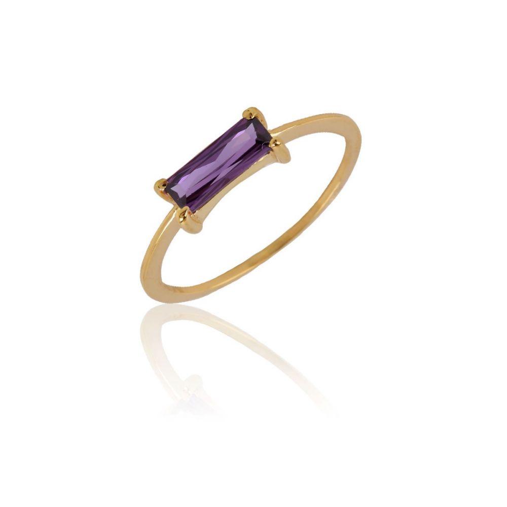 Anillo ATLANTIS Oro 18k violeta