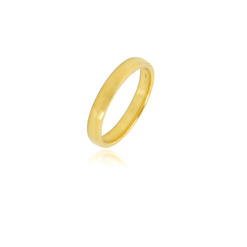 Alianza Oro ley 9kt Comfort 3mm