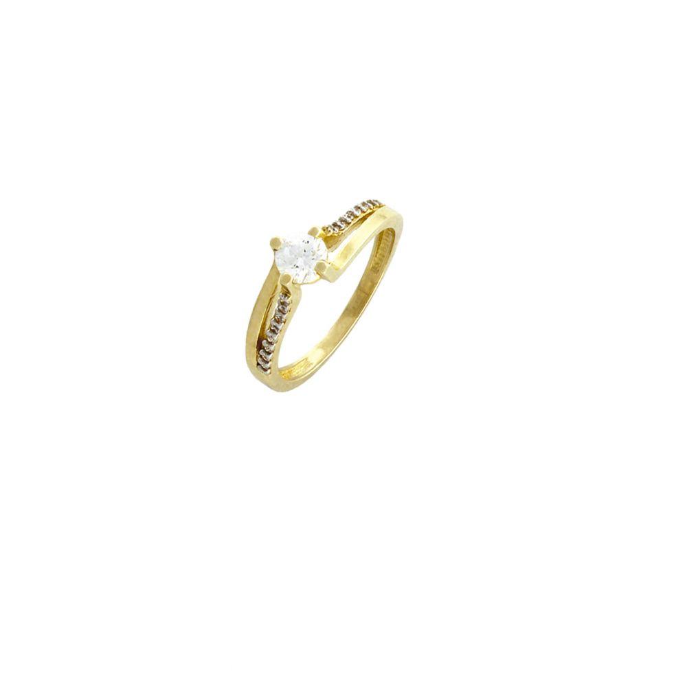 Anillo Oro9 piedras Roselin