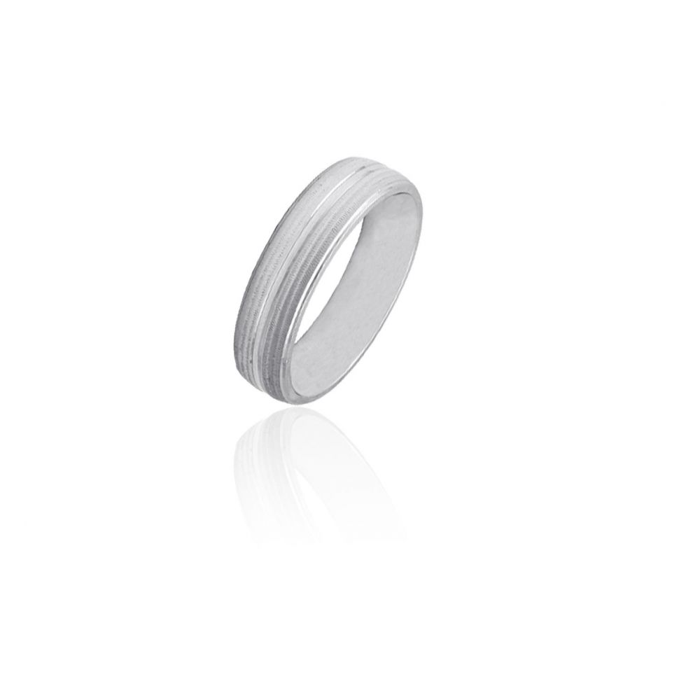 Alianza plata confort 6 mm