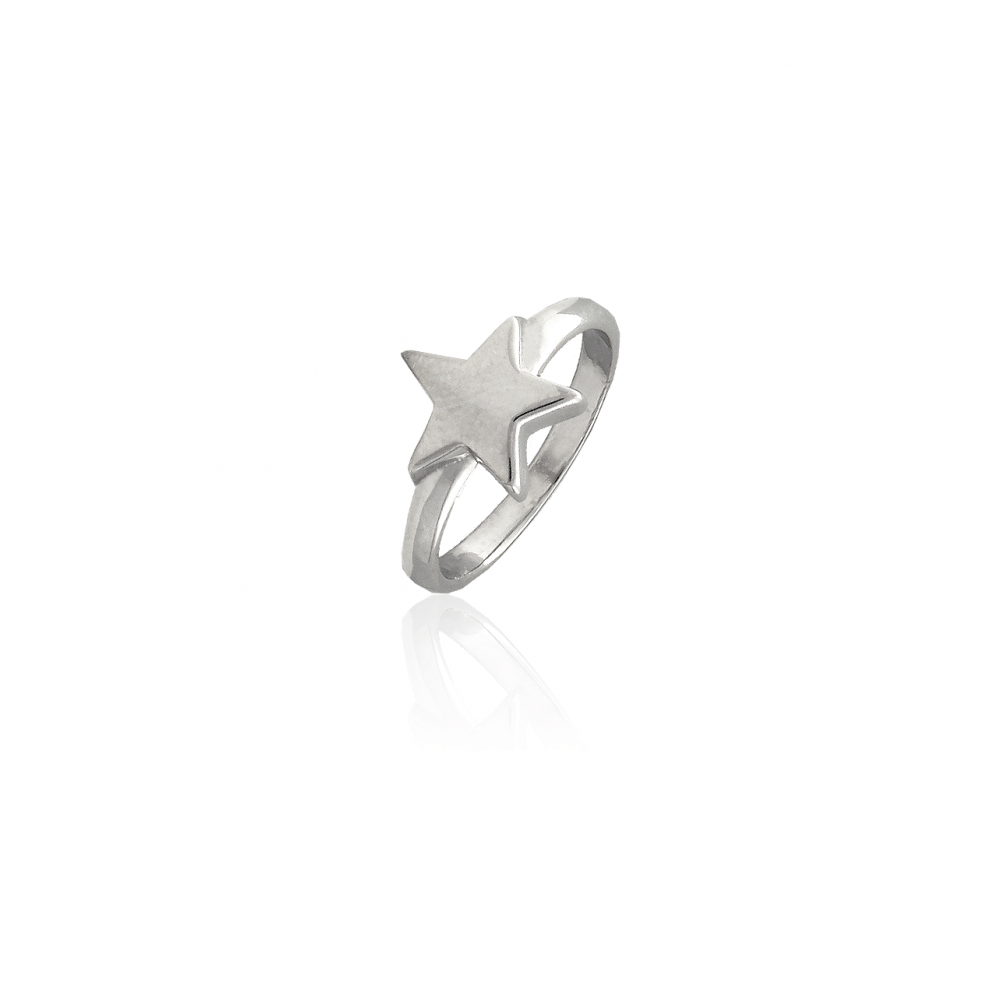Anillo plata estrella Roselin Trendy
