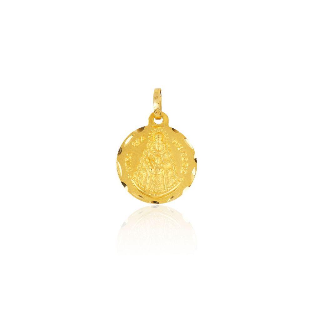 Medalla Oro 18k Virgen del Rocío
