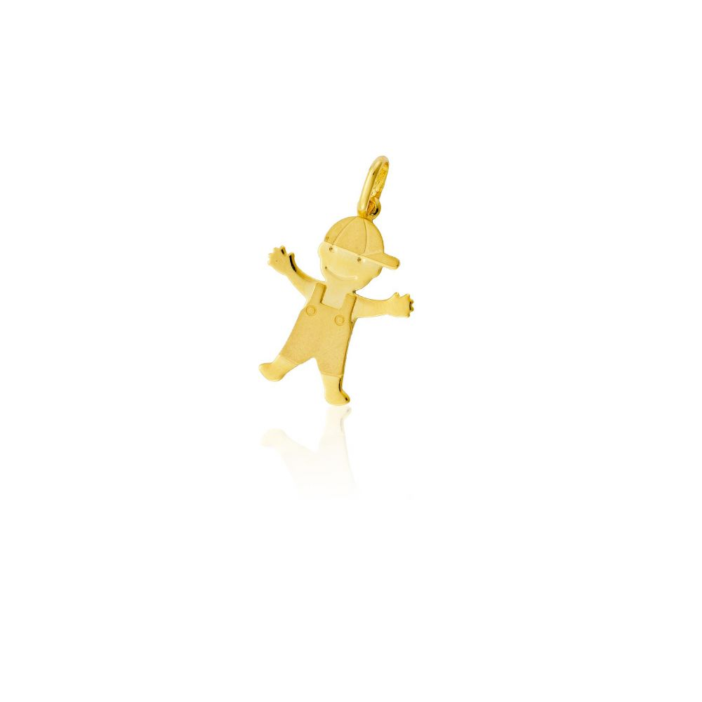 Colgante Oro9 niño Roselin