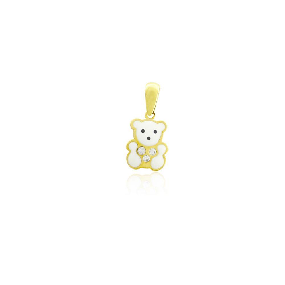 Colgante niña Oro9 oso Roselin