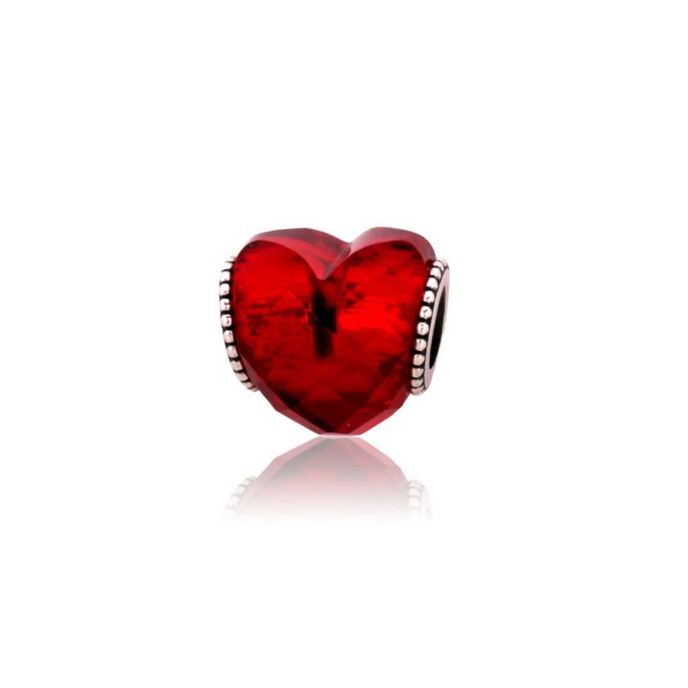 Abalorio Plata Corazón