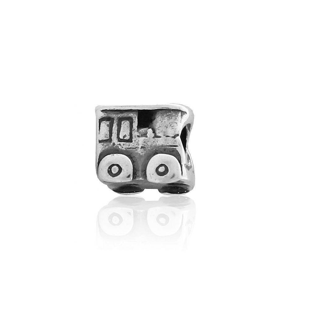 Abalorio plata bus