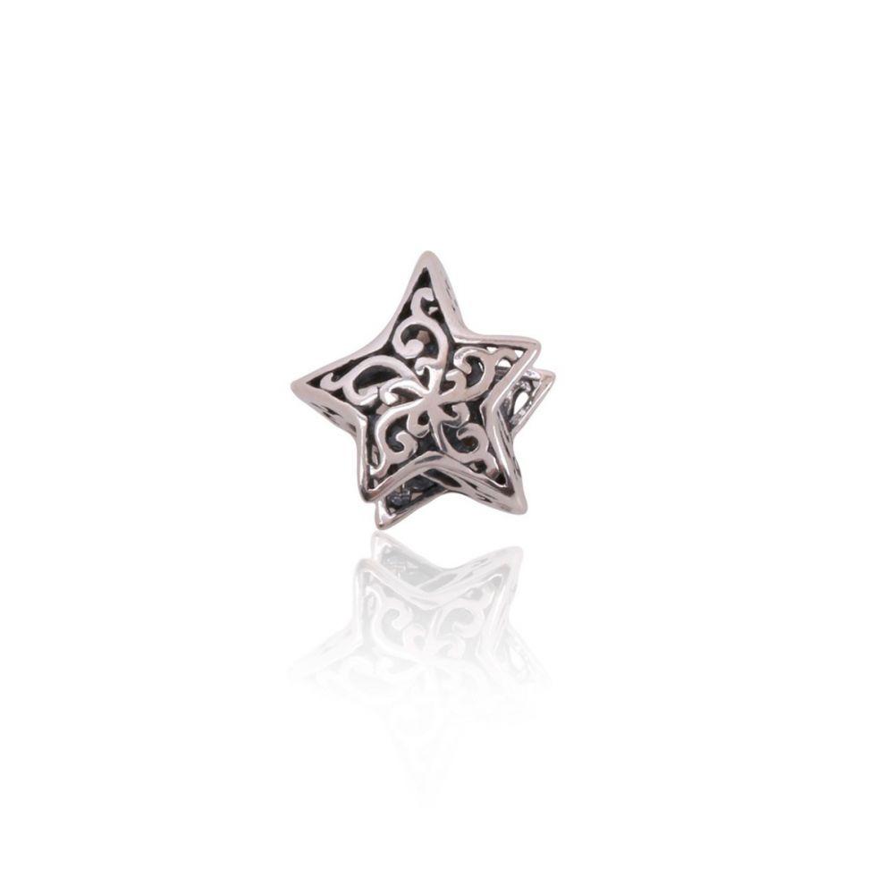 Abalorio Estrella Plata