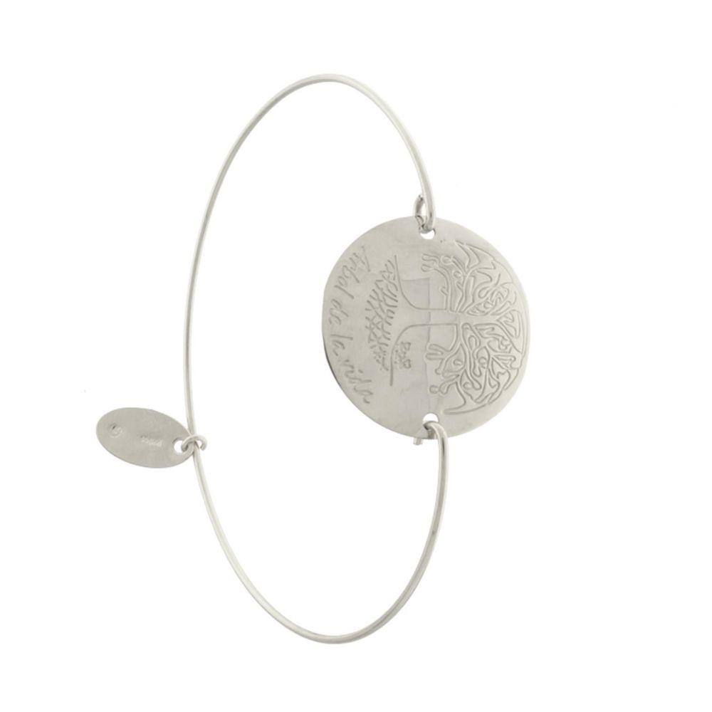 Pulsera plata Árbol de la Vida Roselin Trendy