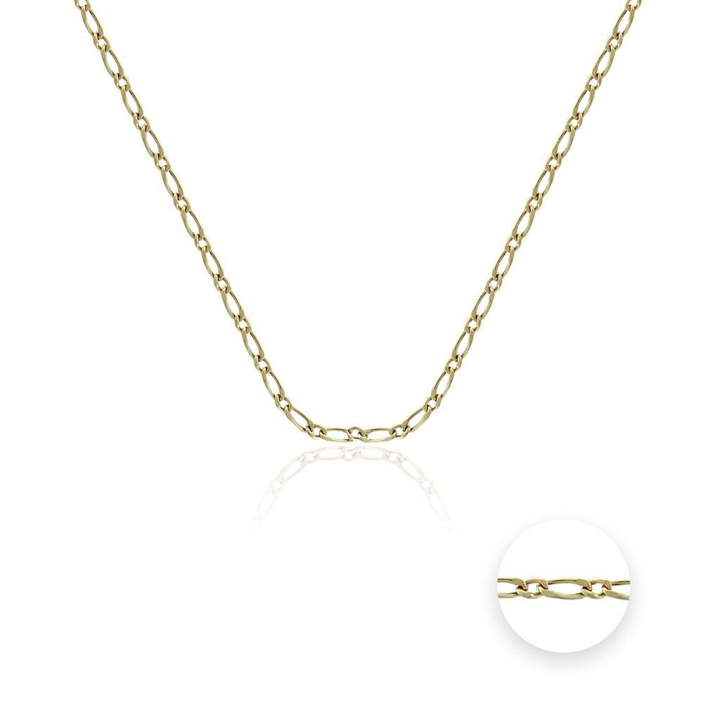 Cadena oval Oro 18k