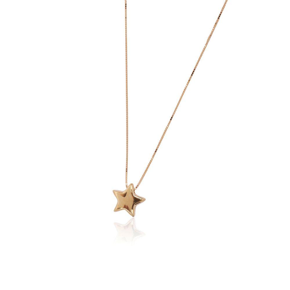 Gargantilla Oro 18k Estrella
