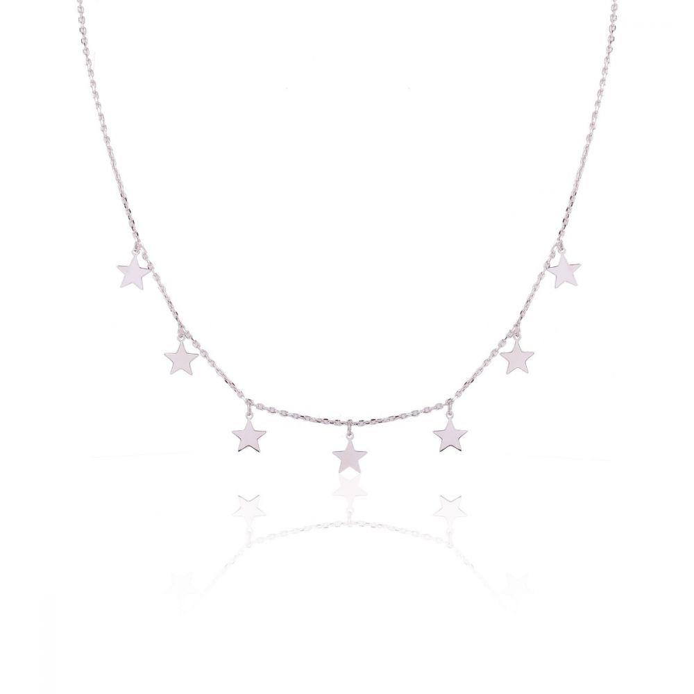 Gargantilla Estrellas plata Roselin Trendy