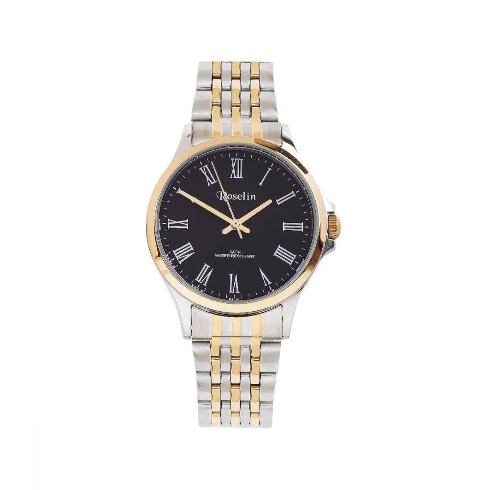b148b18e714e Reloj Hombre Armys bicolor negro Roselin Watches