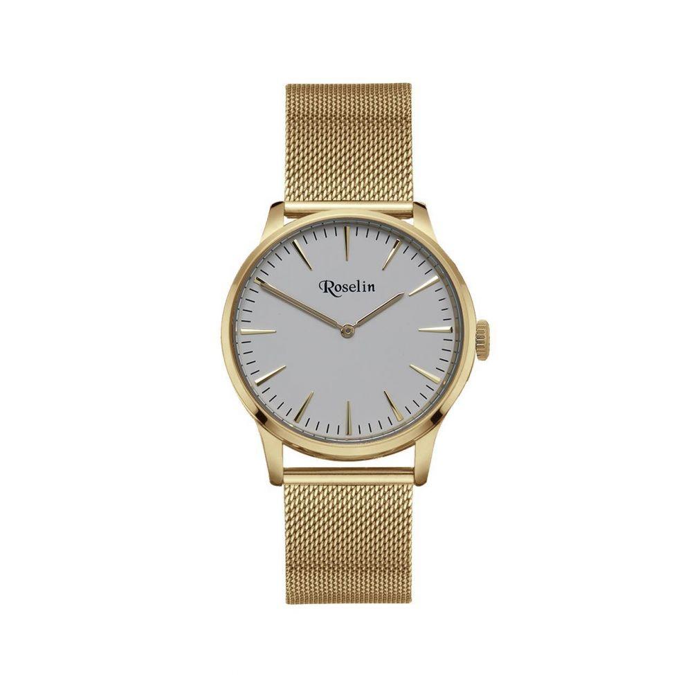 Reloj hombre malla acero Roselin Watches