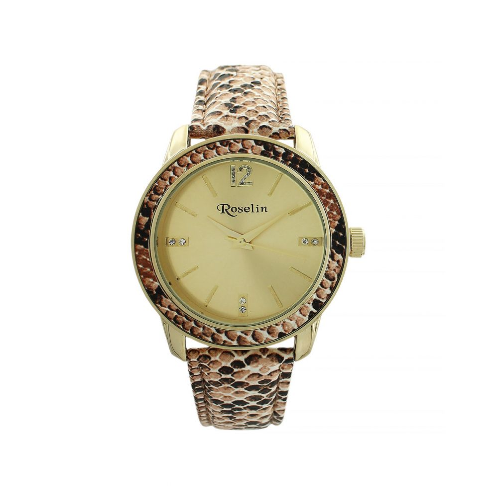 Reloj mujer animal print Roselin Watches
