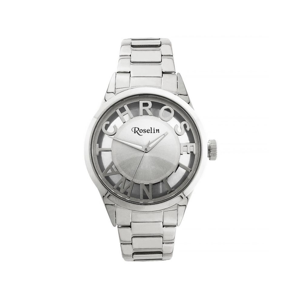 Reloj mujer acero transparente Roselin Watches