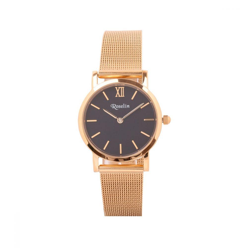 Reloj Malla Dorado Mujer Roselin Watches