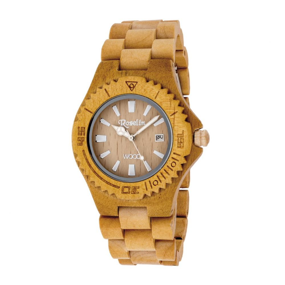 Reloj unisex Natural Wood Roselin Watches