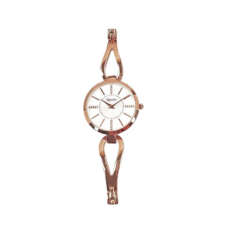 Reloj mujer acero rosa Roselin Watches