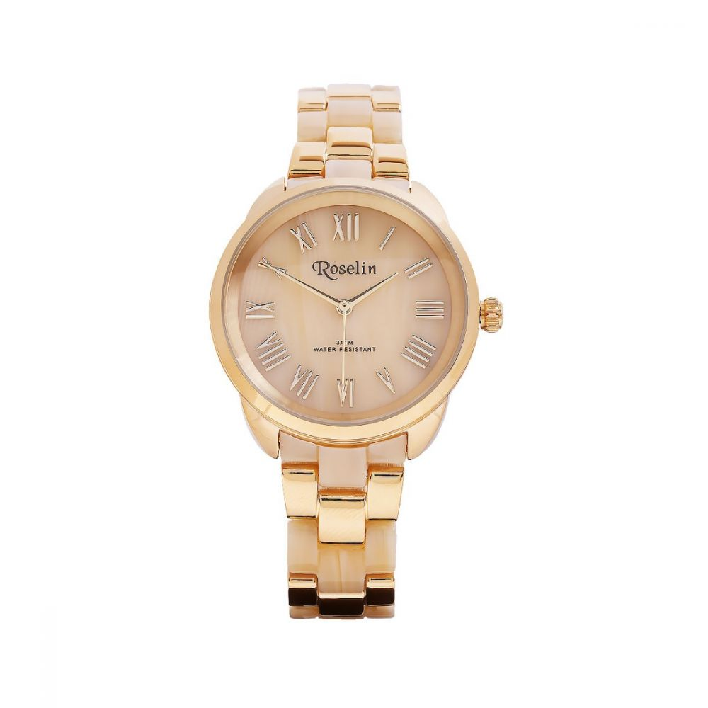 26b83b139716 Reloj Dorado Roselin Watches