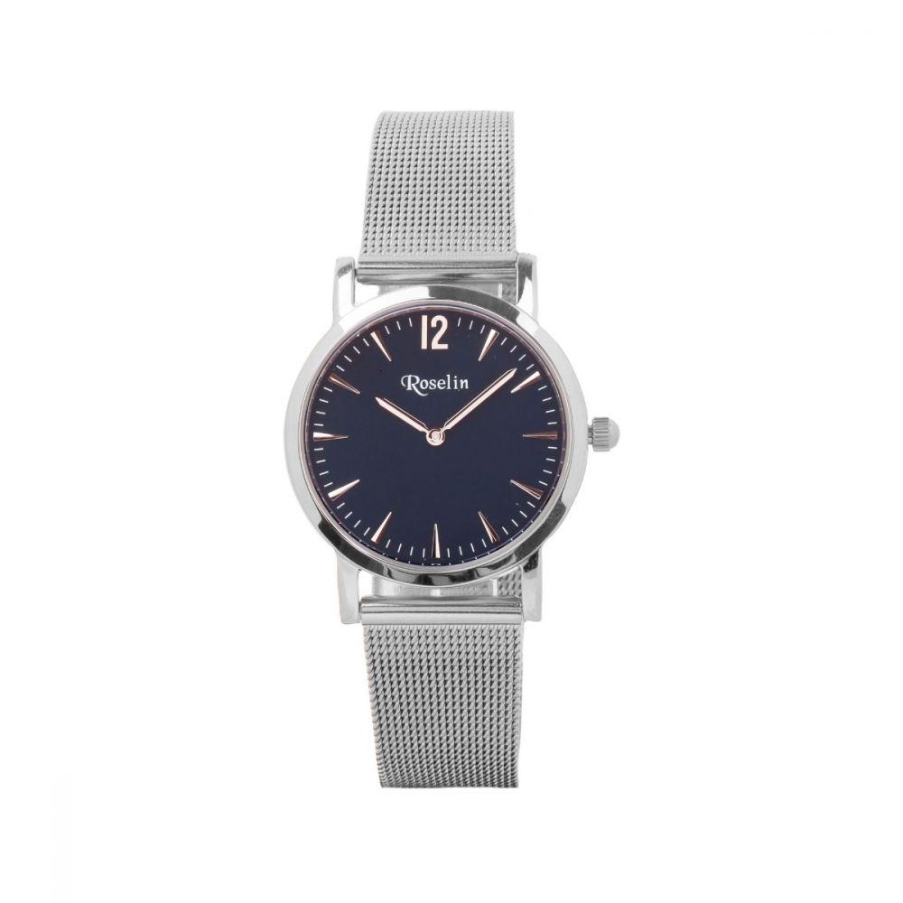Reloj Malla Azul Mujer Roselin Watches