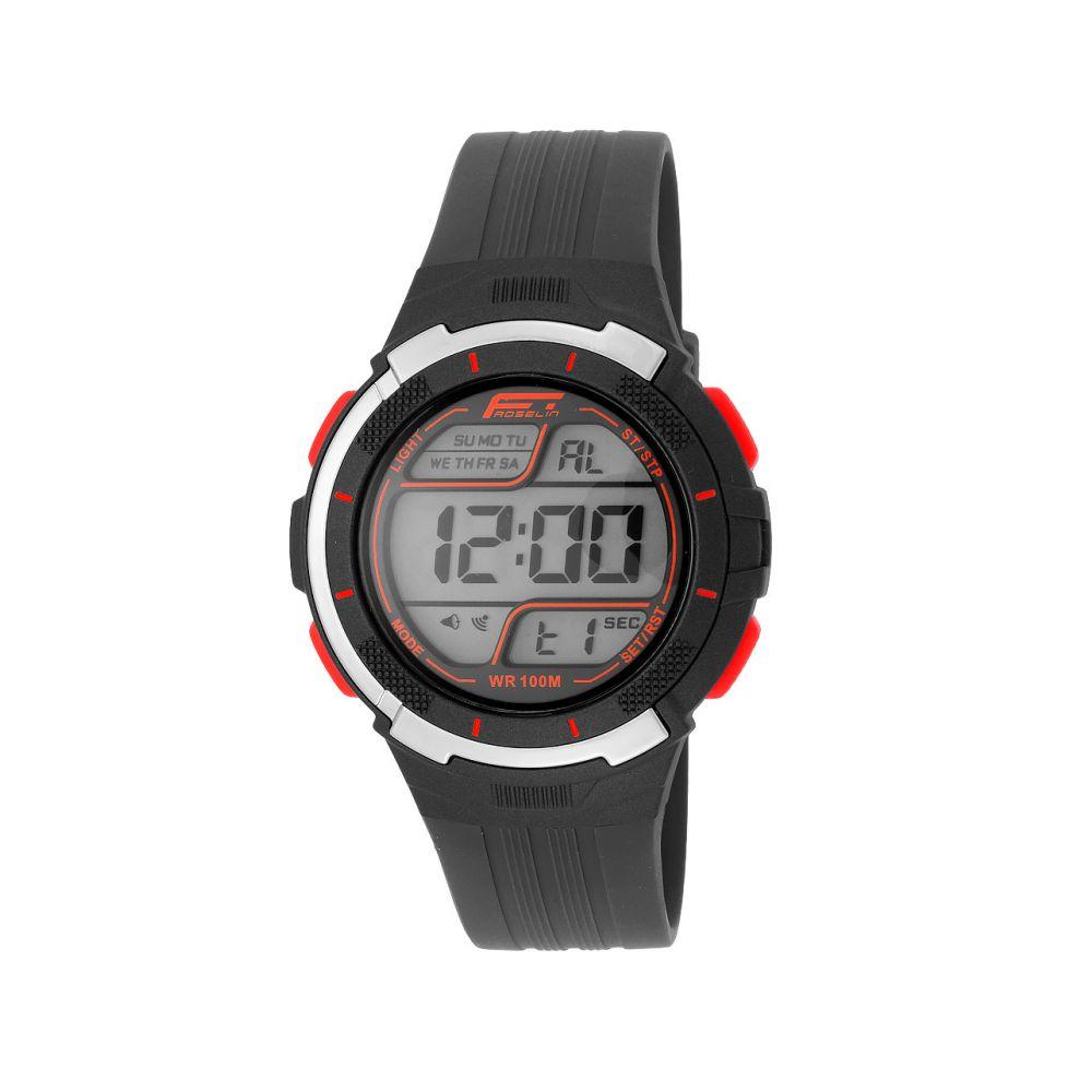 Reloj hombre digital caucho Fórmula Roselin