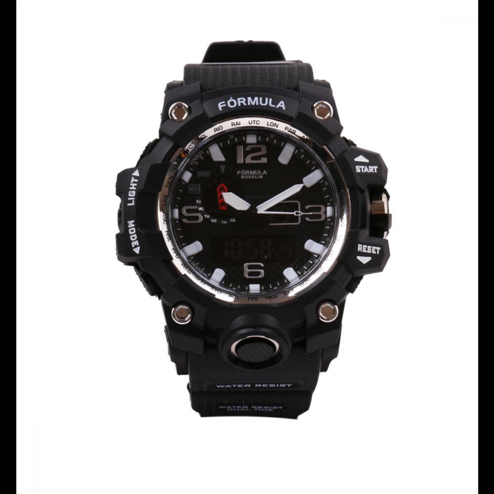 Reloj analógico digital Sport Watch Fórmula Roselin
