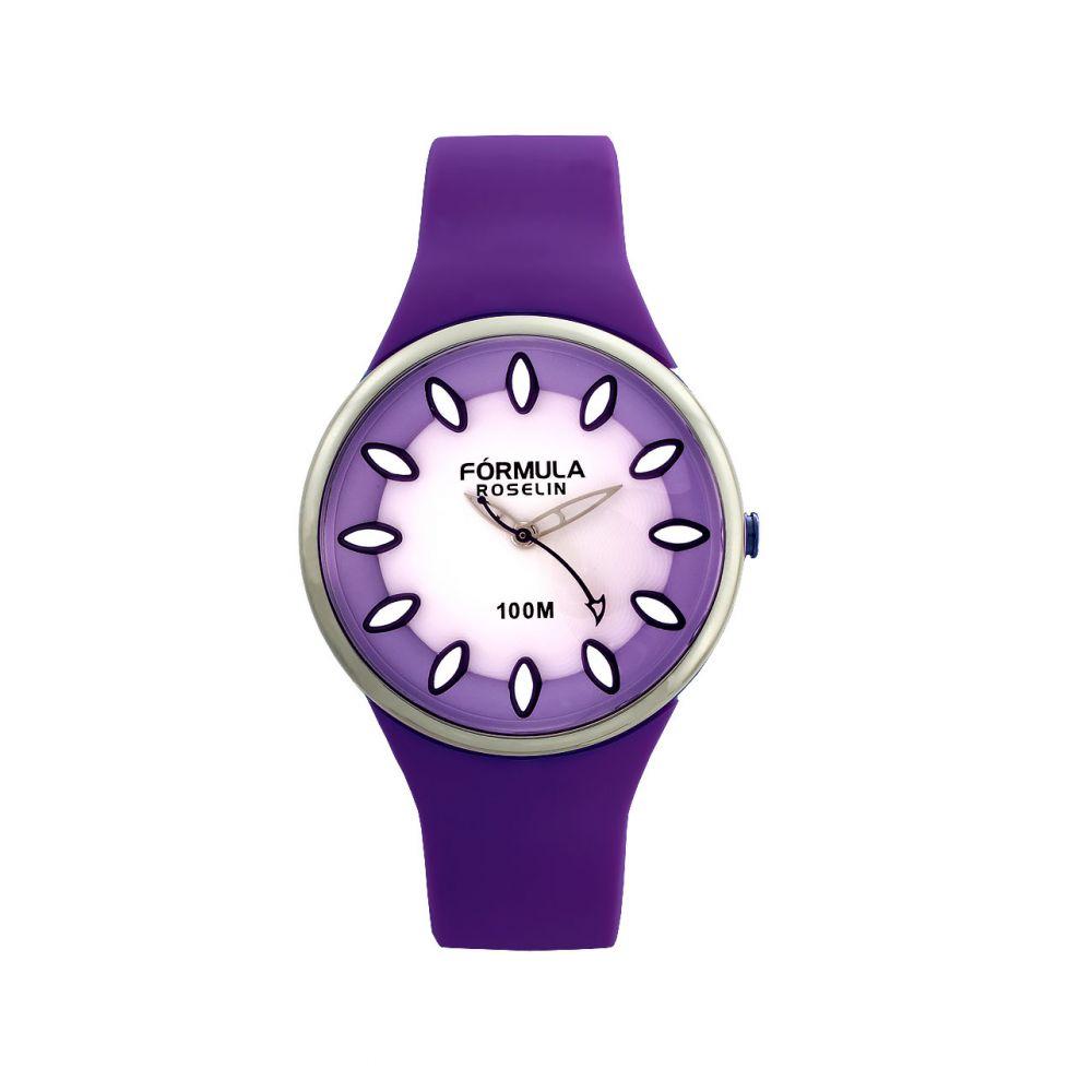Reloj juvenil chica lila Fórmula Roselin