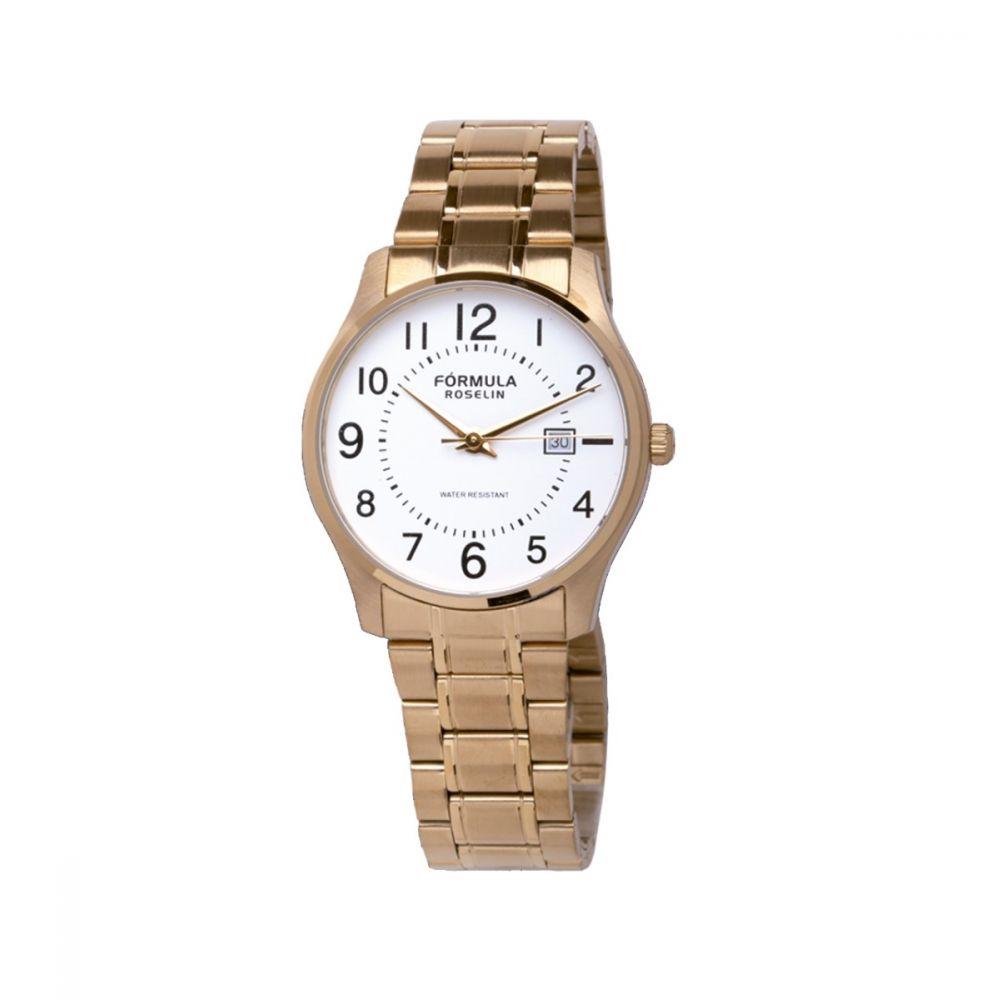Reloj dorado Fórmula Roselin