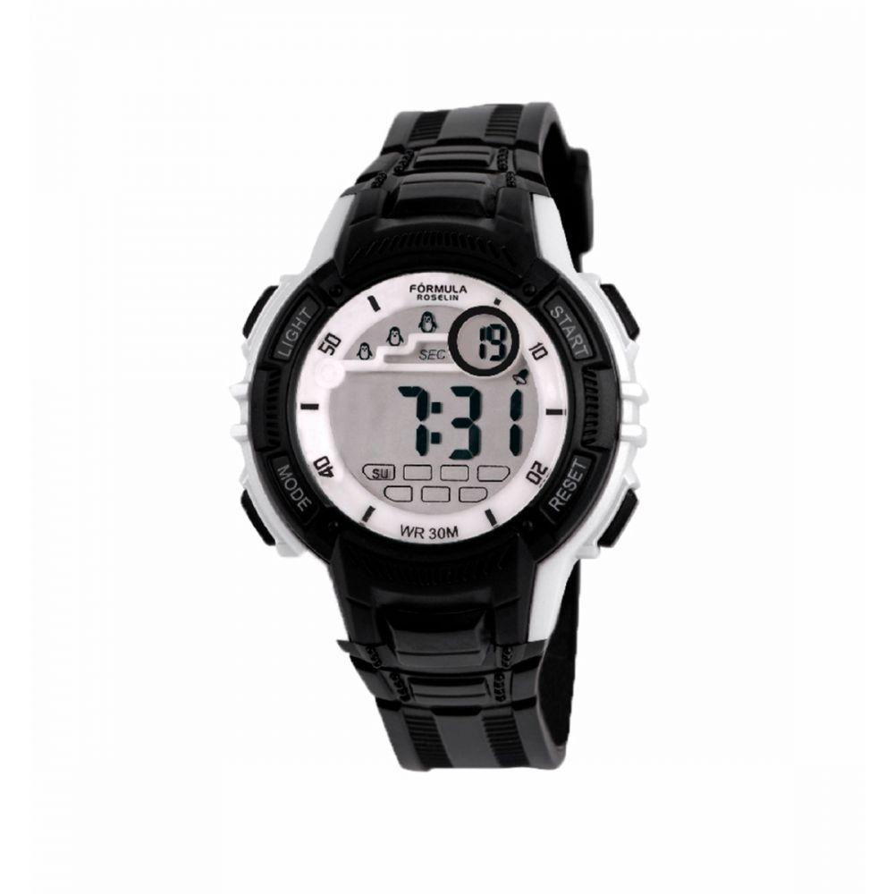 Reloj Digital Negro Formula Roselin
