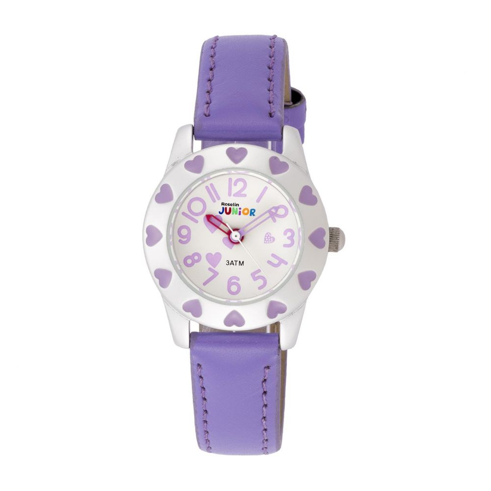 Reloj infantil piel lila Roselin Junior