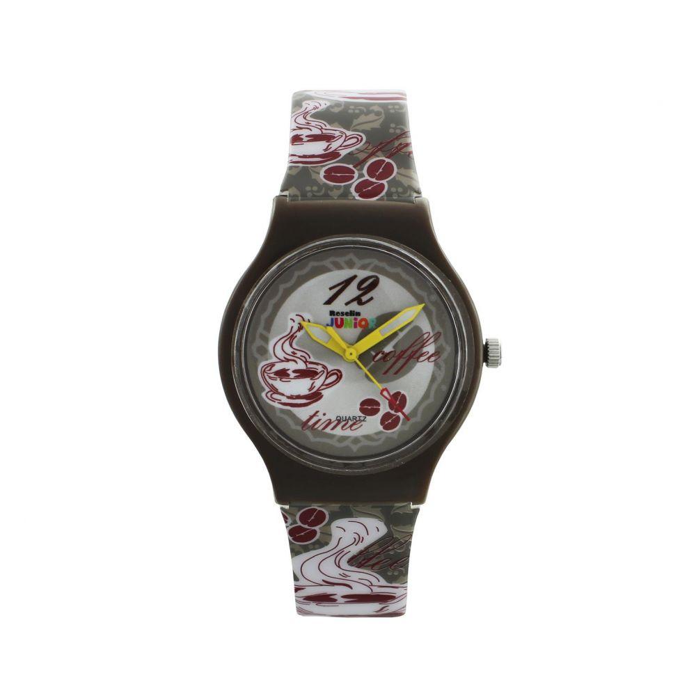 Reloj infantil café Roselin Junior
