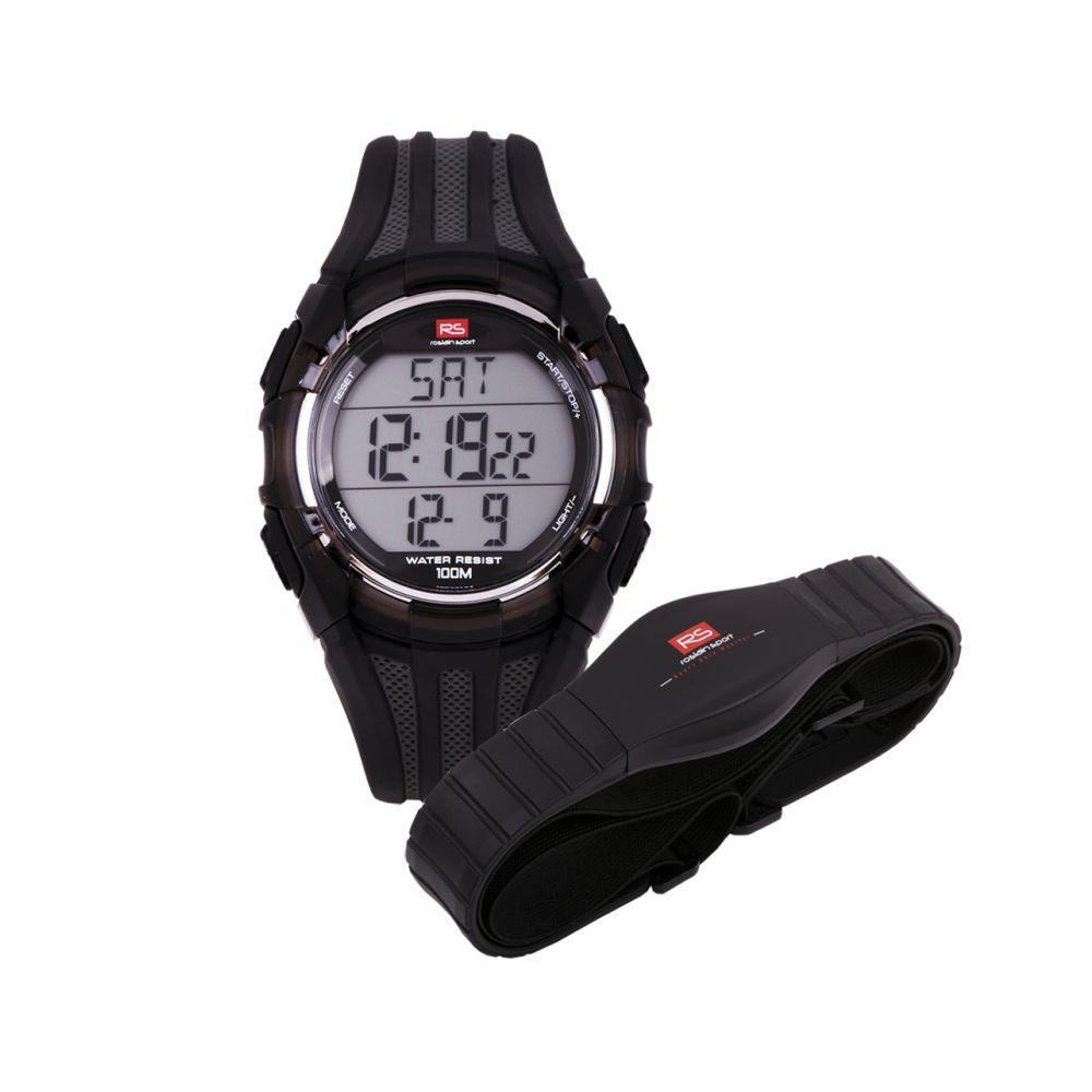 Reloj unisex digital pulsómetro RS Roslain Sport
