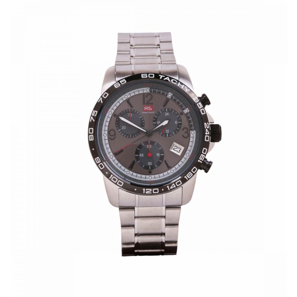 Reloj Hombre Cronografo Acero Gris RS Roslain Sport