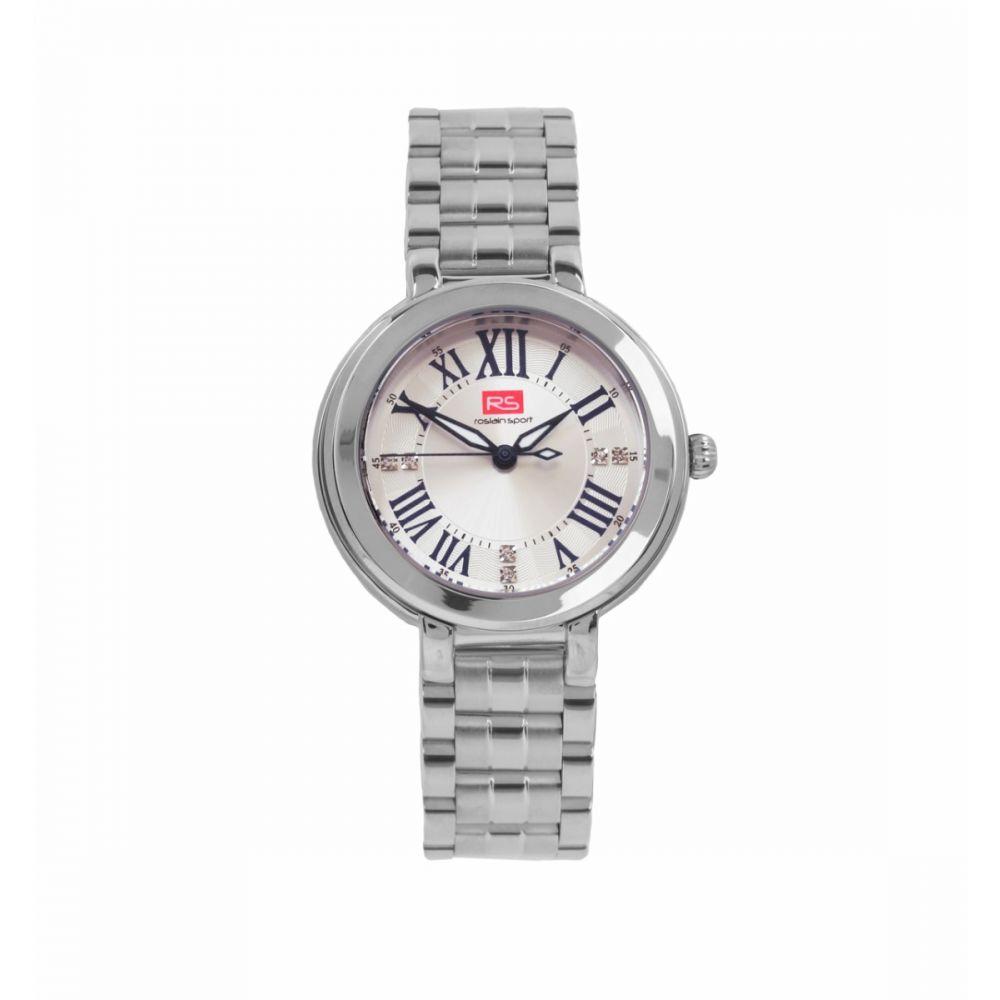 Reloj Mujer Analógico Blanco RS Roslain Sport
