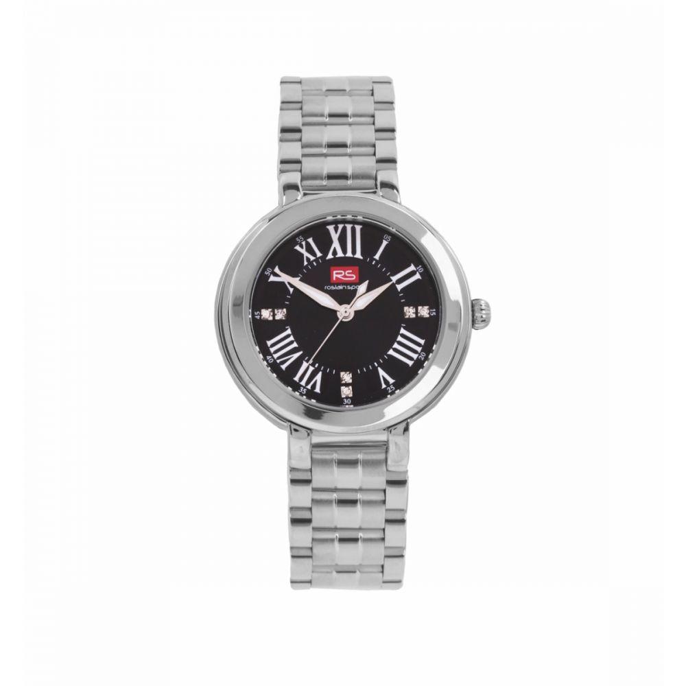 Reloj Mujer Analógico Negro RS Roslain Sport