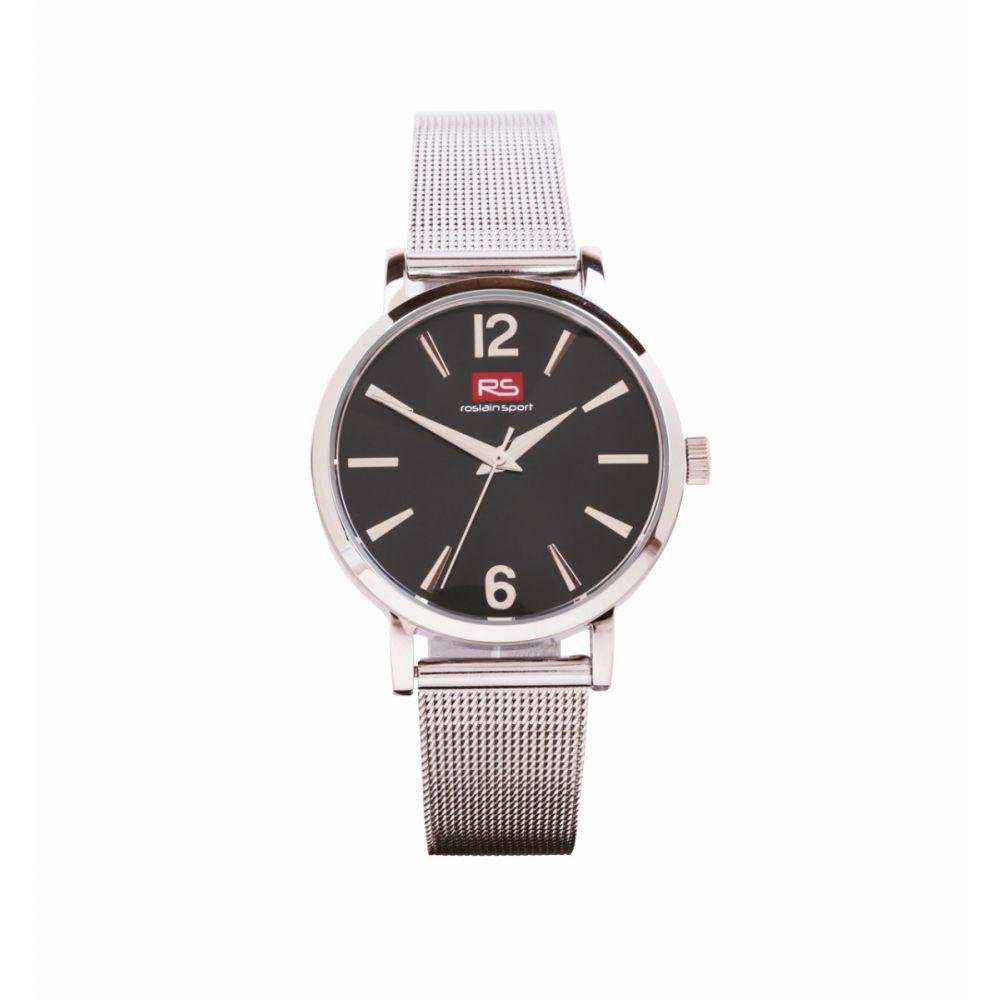 Reloj Mujer Negro Malla RS Roslain Sport