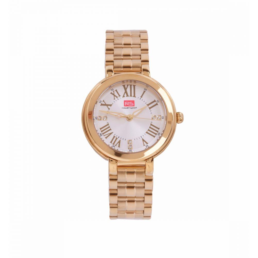Reloj Mujer Analógico Dorado RS Roslain Sport