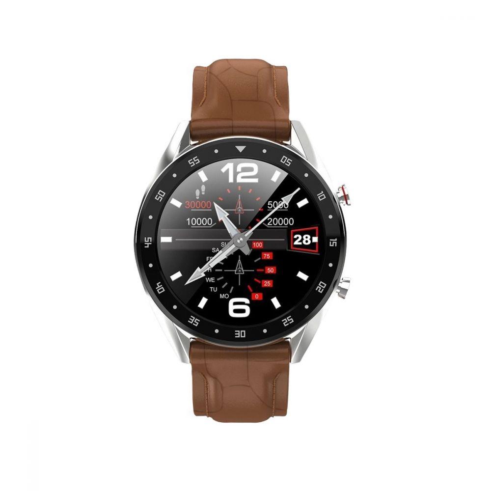 Reloj Smartwatch llamadas marrón Roselin Watches