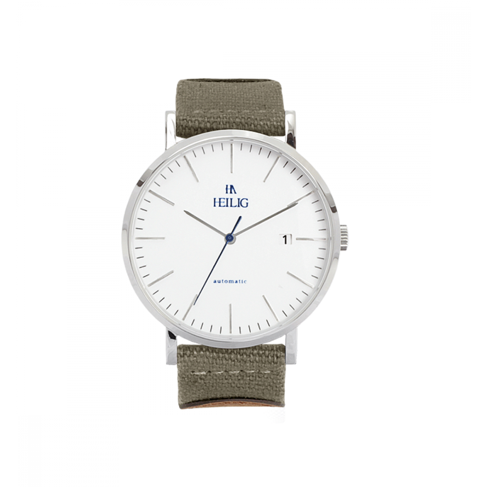 Reloj Heilig Khaki Pequeño