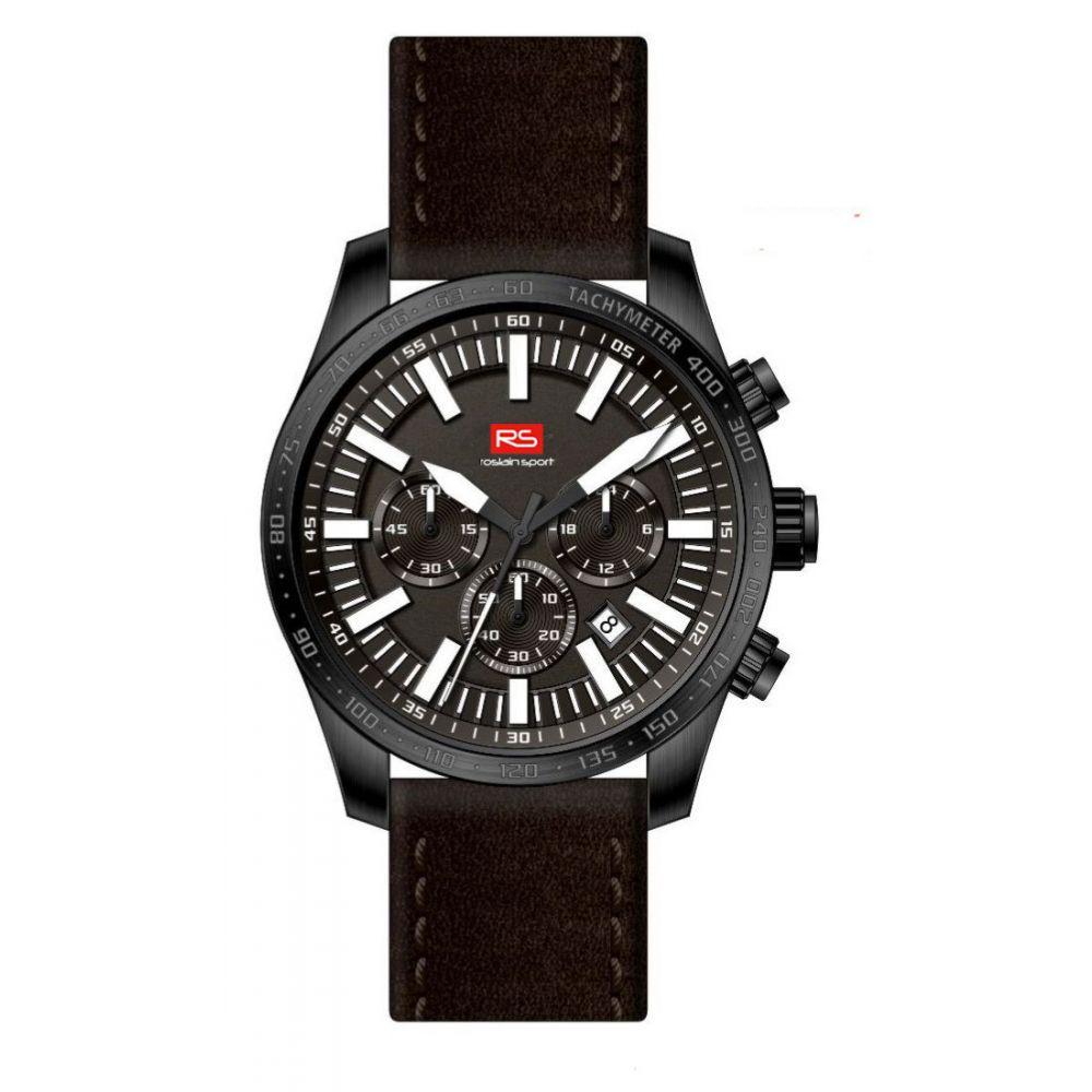 Reloj hombre cronógrafo acero RS Roslain Sport