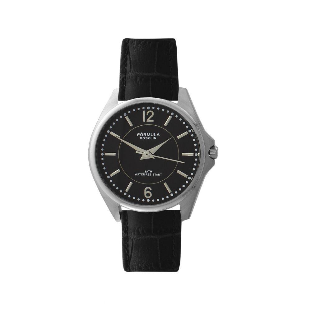 Reloj mujer piel y acero Fórmula Roselin