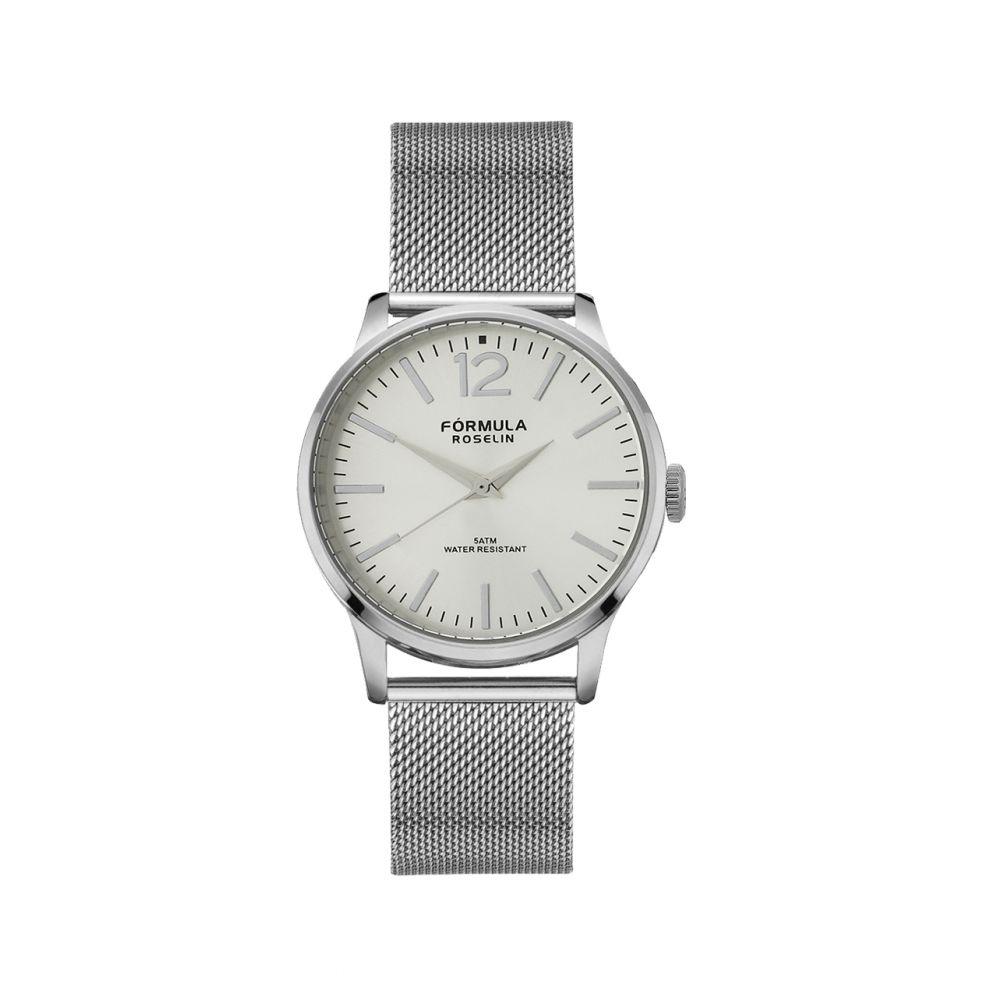 Reloj mujer malla acero Fórmula Roselin