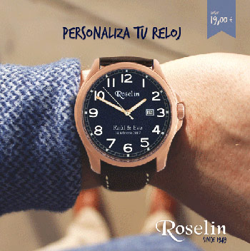 Catálogo personaliza tu reloj