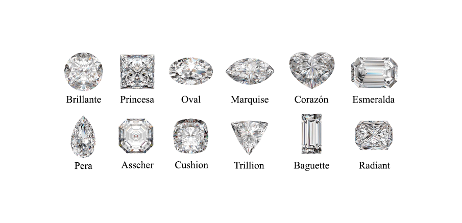 Forma diamante